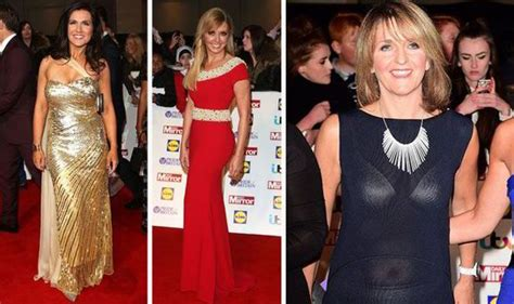 carol vorderman wardrobe malfunctions susanna reid and carol vorderman at the pride of britain