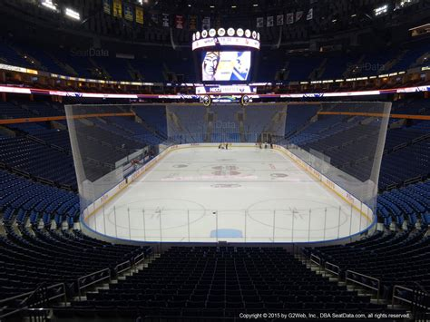 keybank center section  buffalo sabres