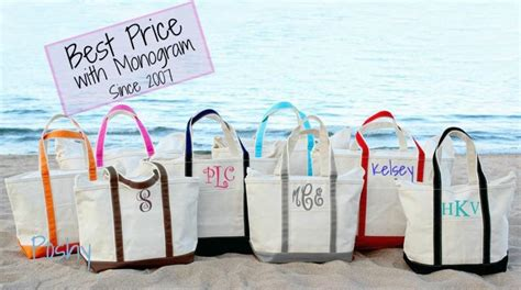personalized boat tote bags monogram boat tote large boat tote personalized beach