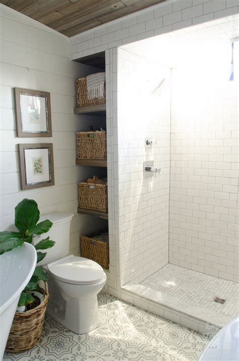 how to have in a bathroom how to build bathroom shelves next to shower