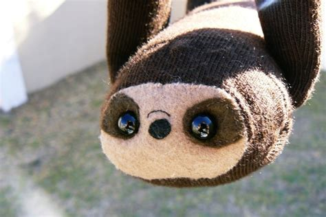 sock animals sewing pattern sock sloth 183 how to make a sloth plushie 183 sewing on cut out keep 183 how to by