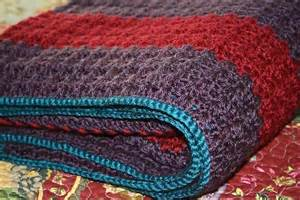 you have to see shell stitch afghan by opheliabells
