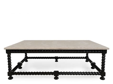 Bernhardt Cordova Stone Top Cocktail Table   Mathis