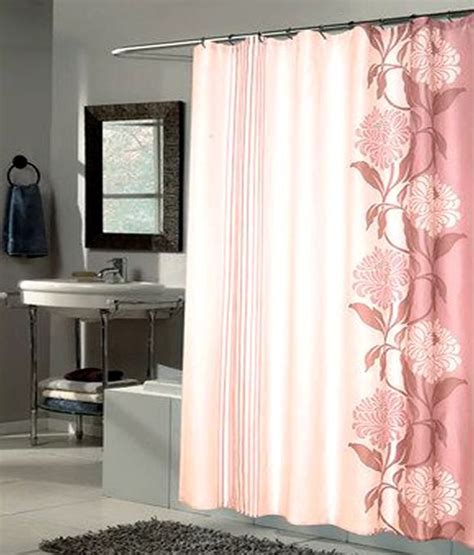 84 inch long fabric shower curtains carnation home chelsea fashions extra long printed fabric