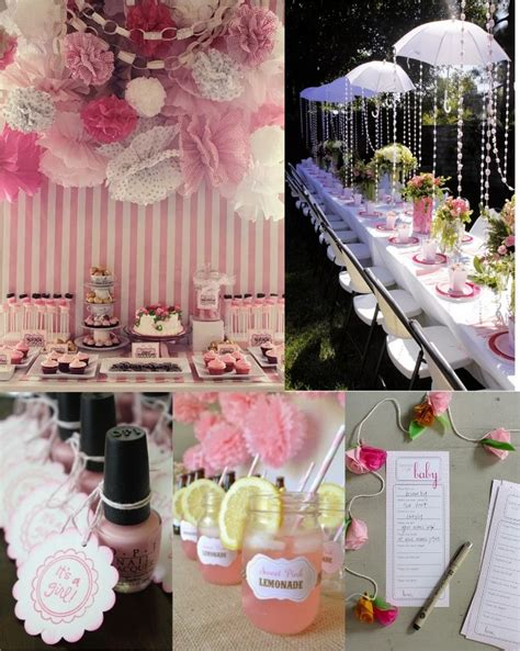 baby shower themes girl ideas baby shower girl party favors ideas