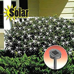 solar powered net lights solar lights net wraps bushes