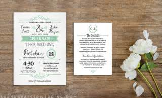 free printable wedding invitations to stylecaster