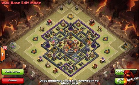 clash of clans town hall 8 war base images 21 epic war base designs for spring 2015