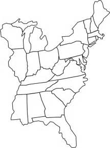 Printable Blank Maps Of Eastern Us Wire Free Printable Images