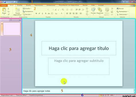 tutorial de powerpoint 2010 curso gratis de powerpoint 2010 interfaz powerpoint 2010