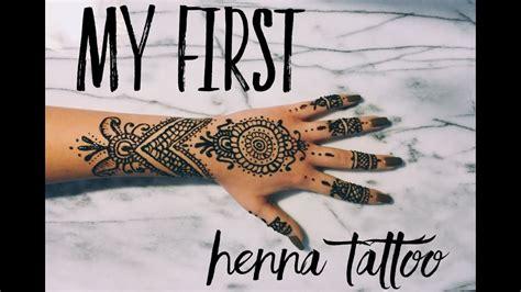 henna tattoo hand r cken time lapse henna