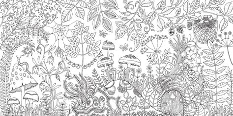 secret garden coloring book books a million free johanna basford coloring pages
