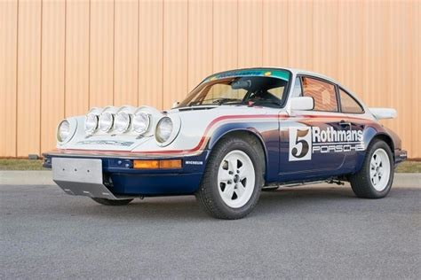 rothmans porsche rally 1983 porsche 911 scrs rothmans rally tribute german cars