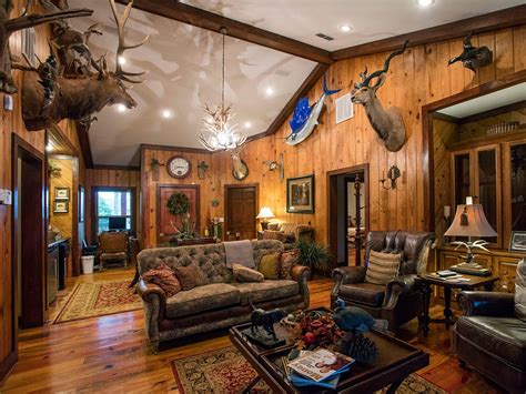 lodge living room 20 rod iron bedroom furniture otter tail hunting lodge