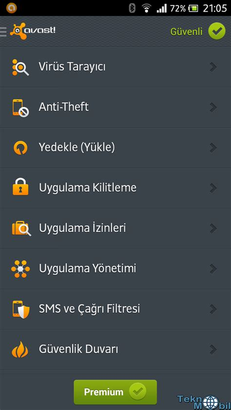 mobile security premium apk avast mobile security premium apk 187 teknomobil program indir