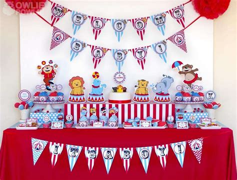 Circus Baby Shower Ideas by Circus Carnival Baby Shower Ideas Photo 1 Of 26