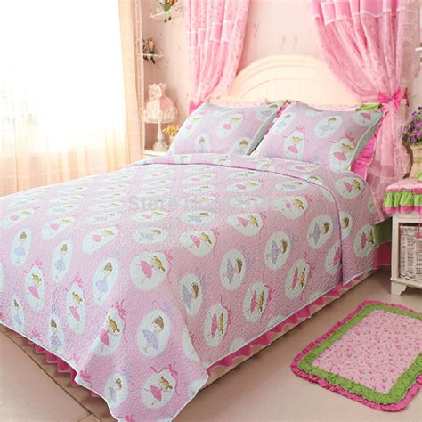 Ballet Quilt by 100 Cotton Free Shipping Prima Ballerina 3pcs Ballet