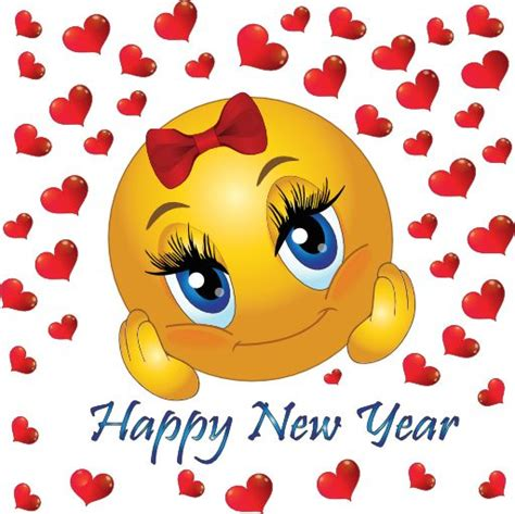 happy new year smileys animated happy new year smiley clip 8