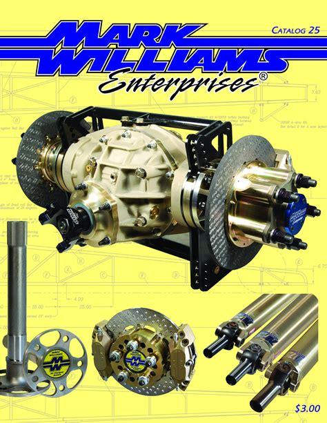 rear end technical information mark williams enterprises bangshift com the new mark williams enterprises catalog is out