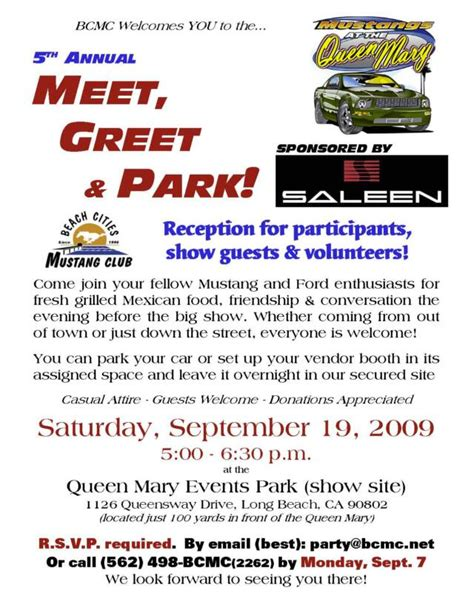 Sle Invitation For Meet And Greet Meet And Greet Invitation Image Search Results