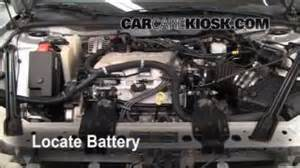 2004 Buick Lesabre Battery Replacement How To Jumpstart A 1997 2005 Buick Century 2004 Buick