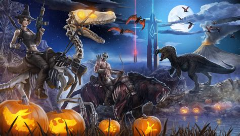 themed events wiki ark survival evolved halloween update includes
