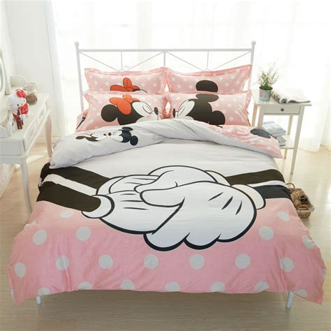 mickey bedding best minnie mouse bedroom decorations
