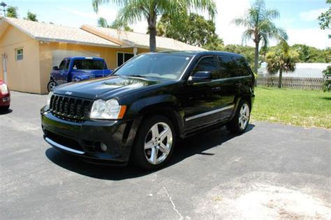 how things work cars 2007 jeep grand cherokee sell used 2007 jeep grand cherokee srt8 sport utility 4 door 6 1l w extras in palm beach gardens