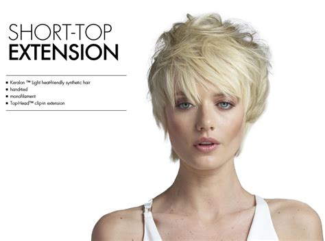 toppers for short hair clip on hair toppers for women short hairstyle 2013