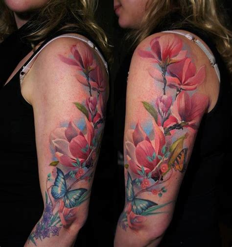 geisha flowers tattoo floral tattoo s 2 thetattooedgeisha