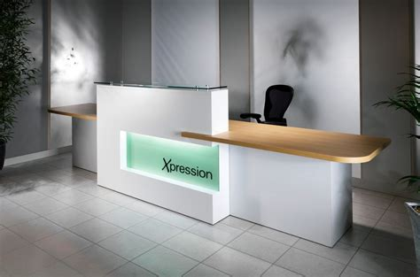 The Gallery For Gt Modern Office Reception Design Reception Office Desk