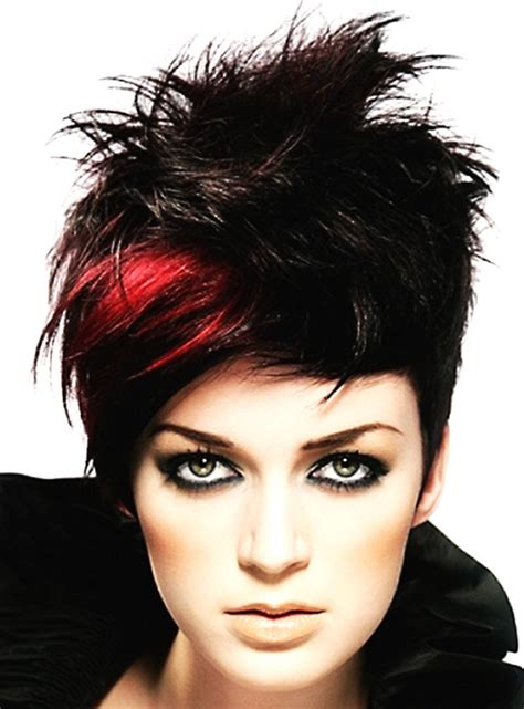 hairstyles red and black hair pictures of short hair color short hairstyles 2017