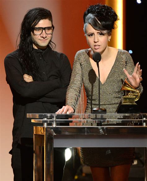 skrillex dating skrillex and sirah photos photos the 55th annual grammy