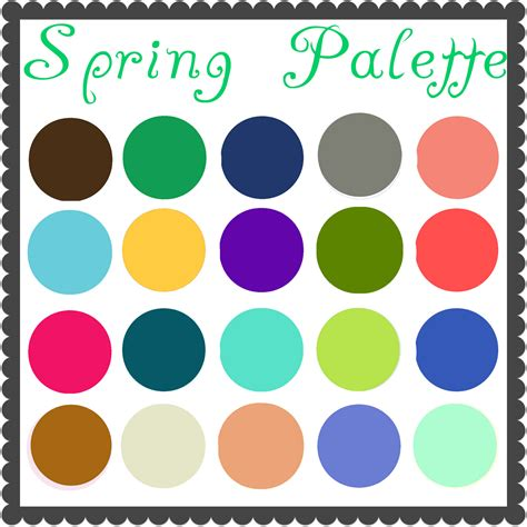 Spring Colors Palette | color palette spring images frompo