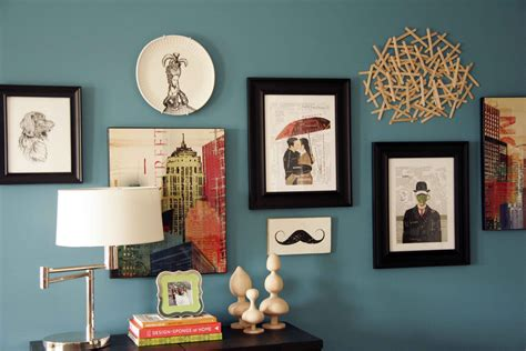 entryway wall art ideas decorating with popsicle sticks all put together