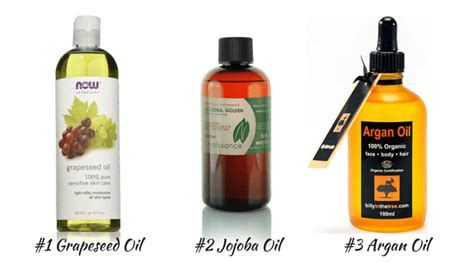 light oils for hair 3 oils to avoid greasy curls