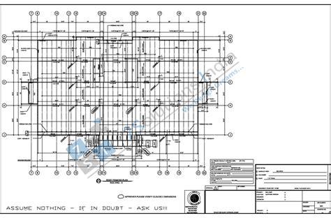 structure drawing steel detailing sles shop drawings sles