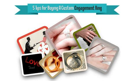 7 Tips To Choose Your Engagement Ring by Tips To Choose Custom Engagement Ring Infographic