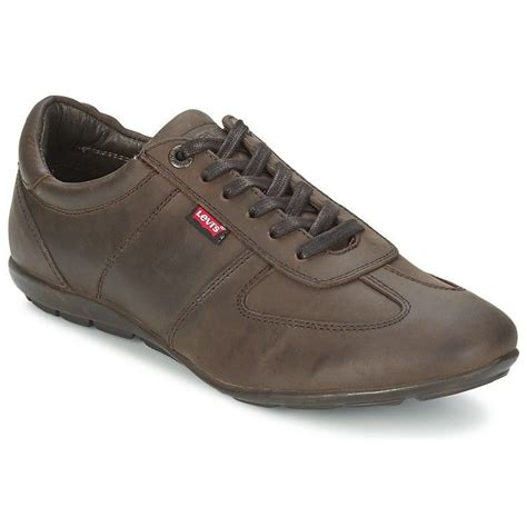 levis shoes buy levis leather casual shoes brown at best price