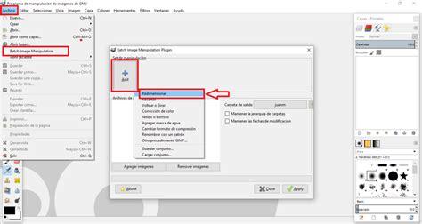 Redimensionar Varias Imagenes Gimp | como cambiar el tama 241 o de varias fotos o im 225 genes a la vez