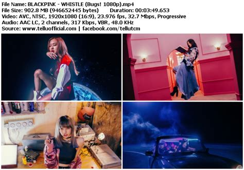 blackpink k2nblog download mv black pink whistle bugs hd 1080p