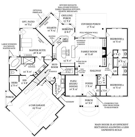 Cool Houseplans by House Plan Chp 53296 At Coolhouseplans Com