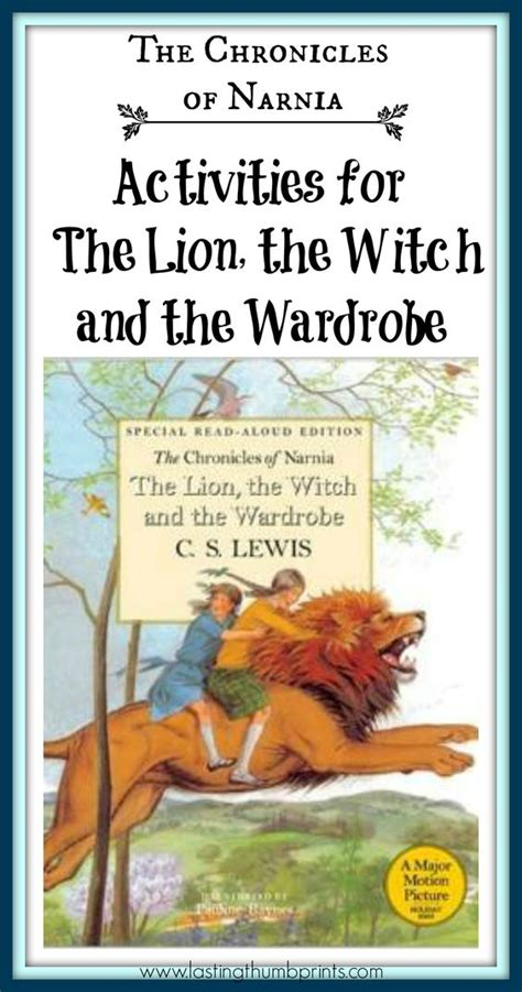 the the witch and the wardrobe book report chronicles of narnia activities for the the witch