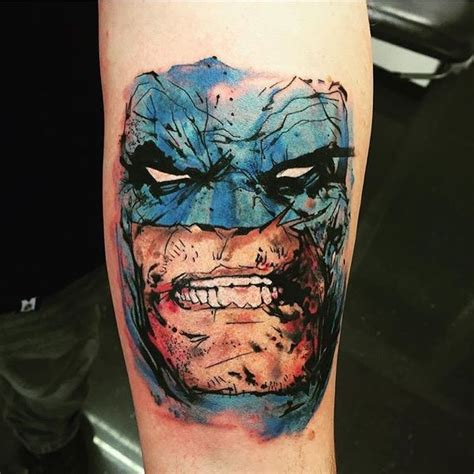 41 cool batman tattoos designs ideas for male and females