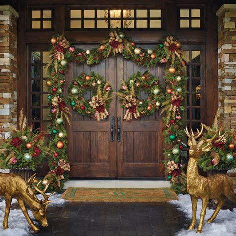 best holiday decorating ideas houzz festive porch decorating ideas landeelu