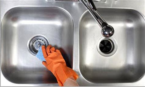 how to clean a kitchen or bathroom sink top cleaning secrets