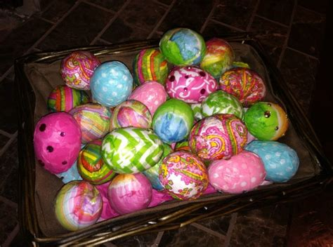 decoupage easter eggs tissue paper cheap plastic white eggs 60 cents pckg of 12 decoupaged