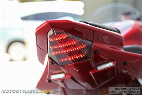 yzf  integrated sequential signal led rear tail