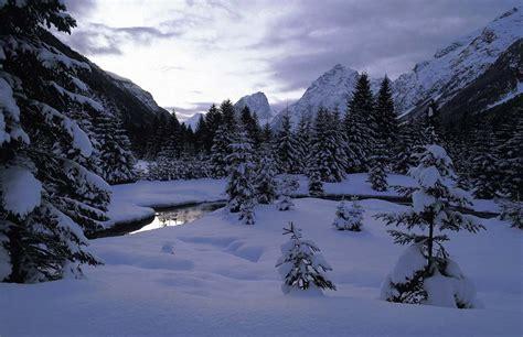 imagenes de paisajes invernales vacaciones de invierno en las aldeas del tirol