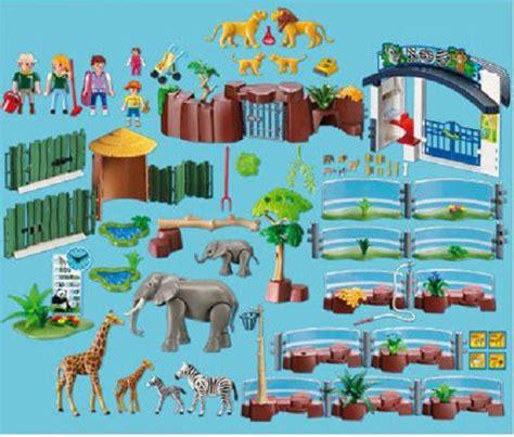 Playmobil Large Zoo playmobil 4850 large zoo 163 67 99